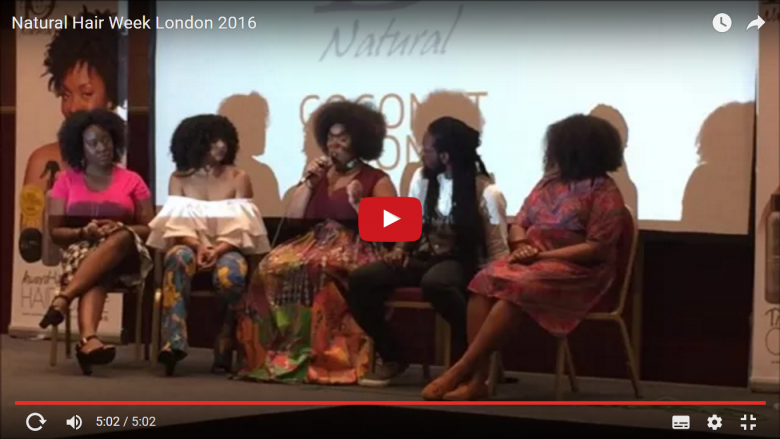 Natural Hair Week London 2016